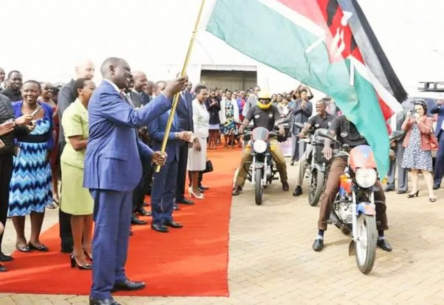 Deputy President H.E William Ruto Flags off Intel Digital Literacy Kits and Trainers