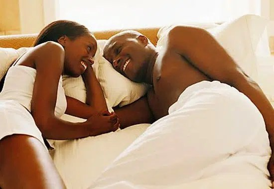 Couple in bed. Image from http://olosho360.com.ng/2015/05/nigeria-ranked-most-sxuallysatisfied-country-in-the-world/