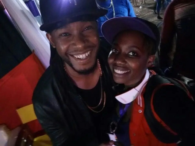 This picture with Redsan was taken at Koroga in low light conditions