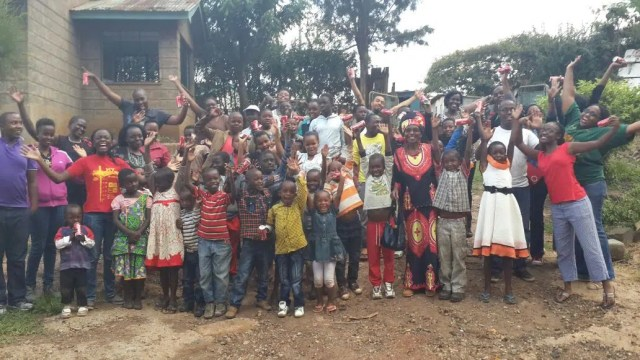 Annette Angose's Change for Change - Children's Home