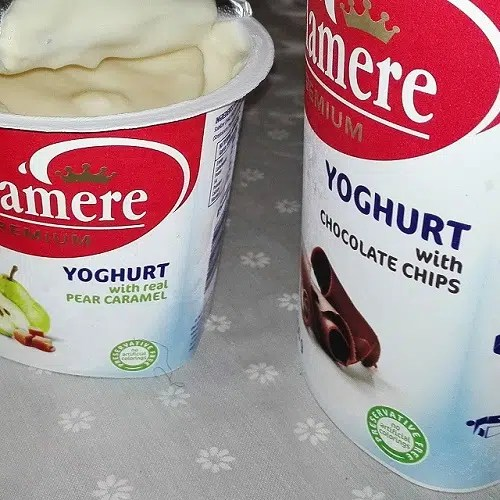 Product Review: Delamere Chocolate & Pear Caramel Yogurt Review