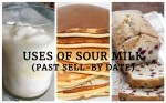 Uses Of Sour Milk Or Milk Past It's Sell-By Date
