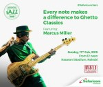 Marcus Miller To Headline The Safaricom International Jazz Festival On Sunday