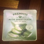 Product Review: Premium Aloe Vera Korean Sheet Mask