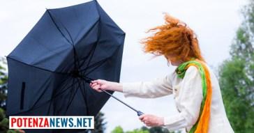 Pioggia e vento in Basilicata: ecco l'allerta della Protezione Civile