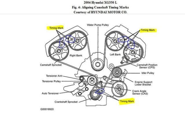 Hyundai distributieriem diagram Auto Potgieter