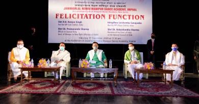 Manipur dance academy felicitates MPs
