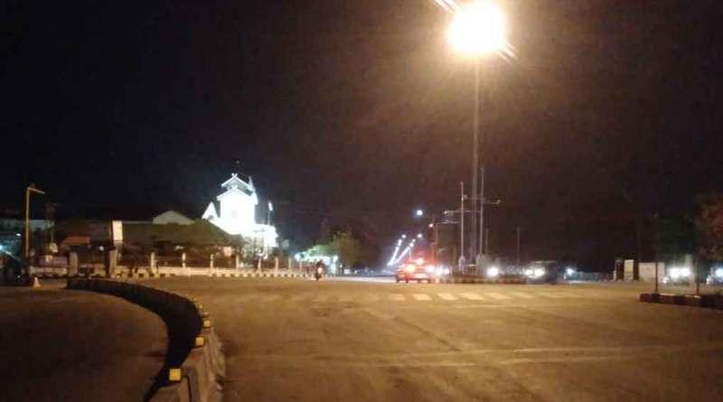 Night curfew begins in Manipur