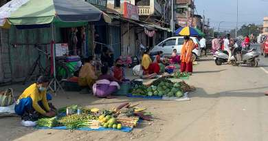 Manipur government issues schedule for opening of vegetable vendors, shops