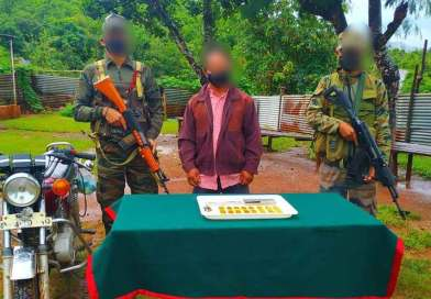 Gold smuggler nabbed with gold worth Rs 1.33 crore
