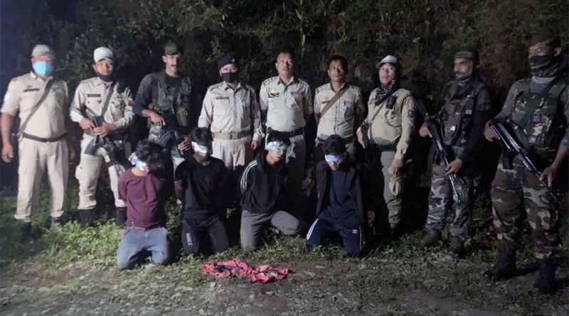 4 KNF cadres arrested