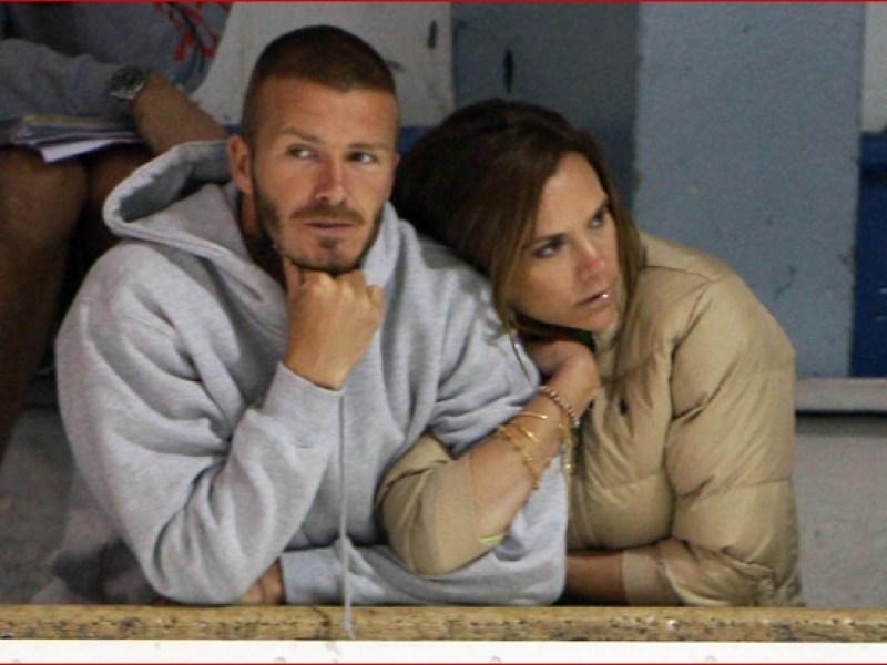 Mésentente chez les Beckham