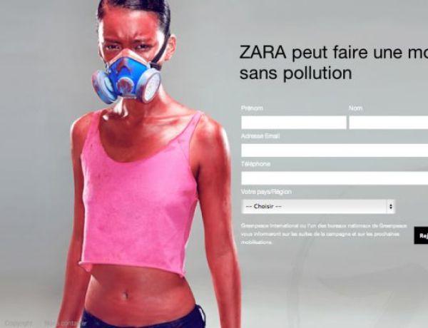 Zara: l'enseigne qui se fait mettre au coin par Greenpeace
