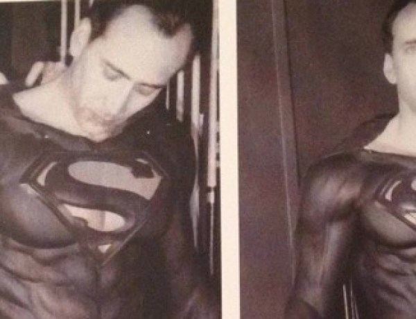 Nicolas Cage était prêt pour Superman