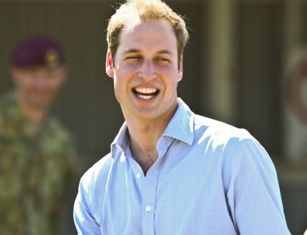 Le prince William voyage en classe éco