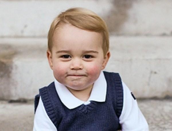 Le prince George toujours aussi craquant sur ses nouvelles photos officielles