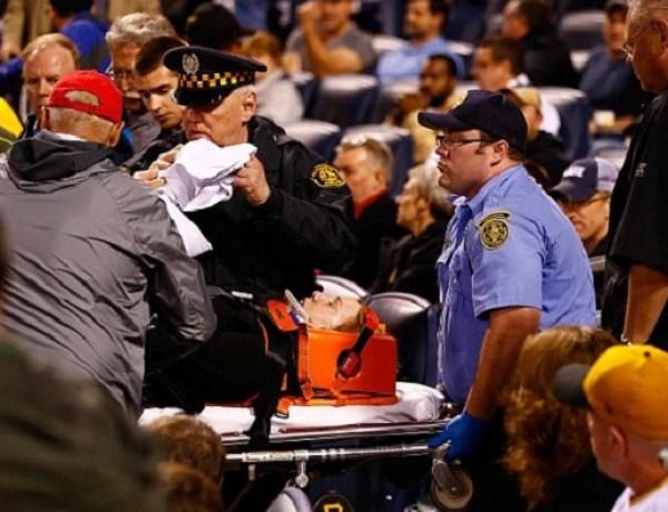 Baseball : Une spectatrice se prend la balle dans la tête !