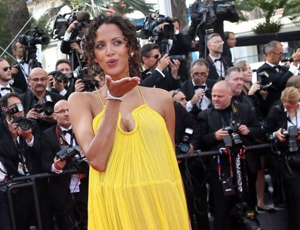 Noémie Lenoir enceinte dévoile sa grossesse au Festival de Cannes