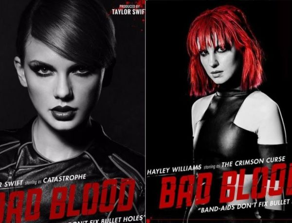 """""""Bad Blood"""" : Le nouveau clip 100% stars de Taylor Swift !"""