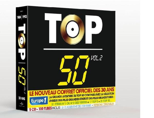 Concours : Gagnez un coffret Top 50 volume 2