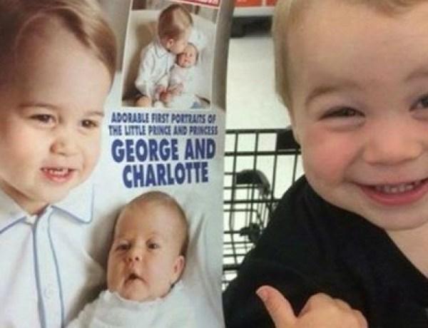 Buzz : Le sosie du prince George fait craquer la Grande-Bretagne !