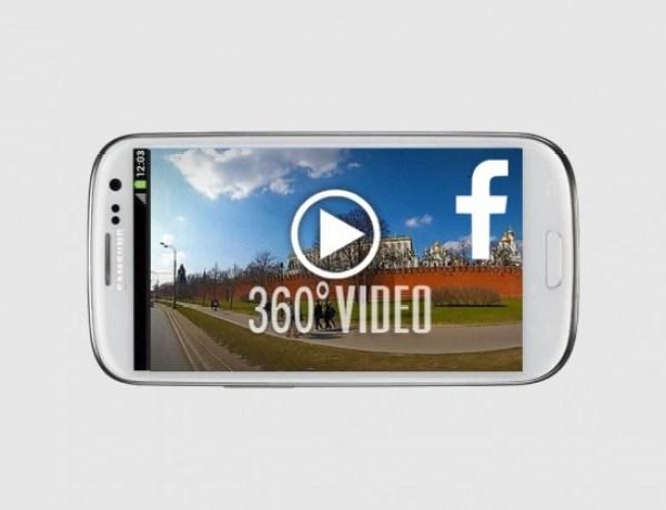 Facebook démocratise la vidéo à 360 degrés