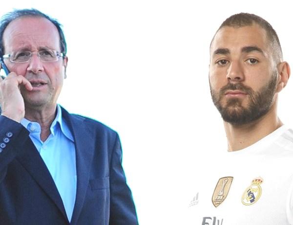 Affaire de la sextape : François Hollande tacle Karim Benzema
