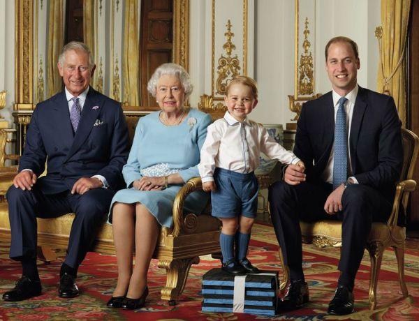 Adorable prince George : Toujours plus craquant sur son nouveau cliché officiel