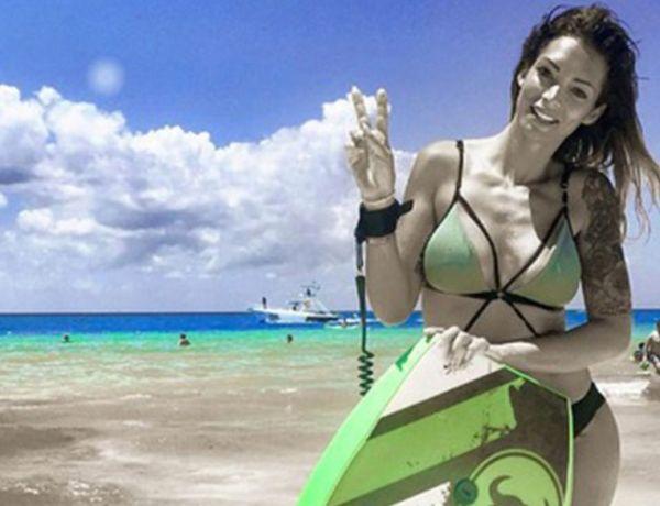 Emilie Nef Naf très amoureuse de Bruno Cerella au Mexique