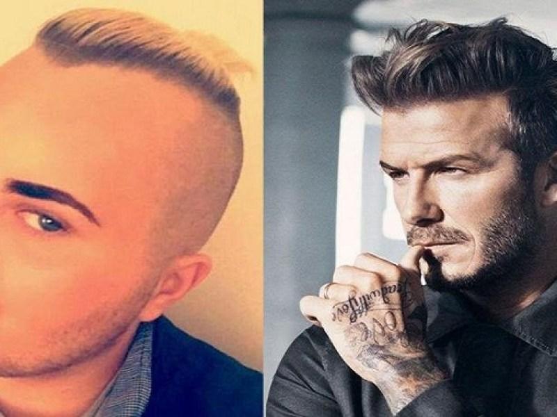 Il dépense 23 000€ pour ressembler à Beckham… et c'est plutôt raté !