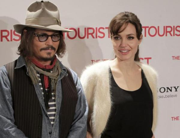 Angelina Jolie et Johnny Depp en couple ?