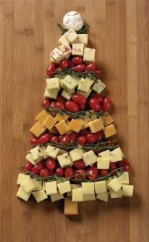 Sapin de Noël alimentaire