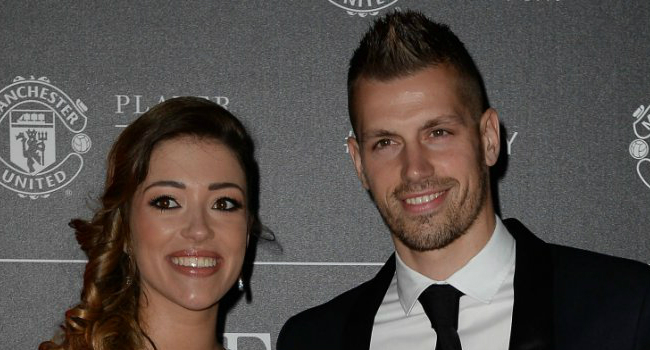 Camille Sold et Morgan Schneiderlin