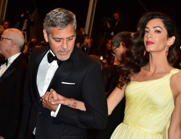 Amal Clooney enceinte de jumeaux ? La rumeur enfle et se précise !