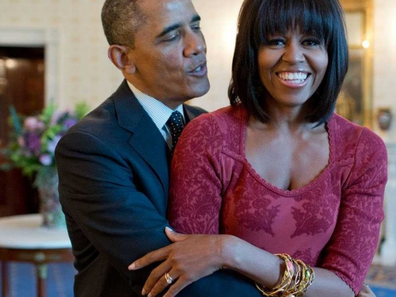 Défilé de stars pour le départ du couple Obama