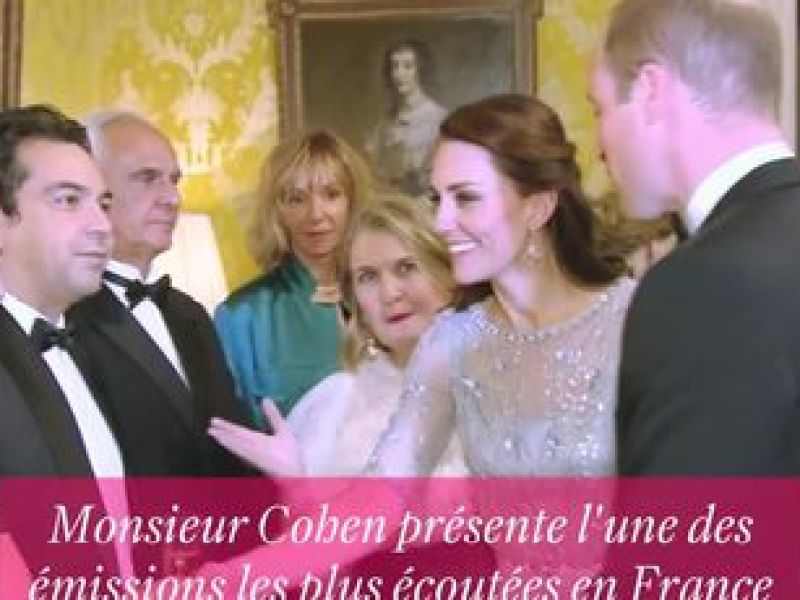 Oups ! La bourde du prince William face à Patrick Cohen