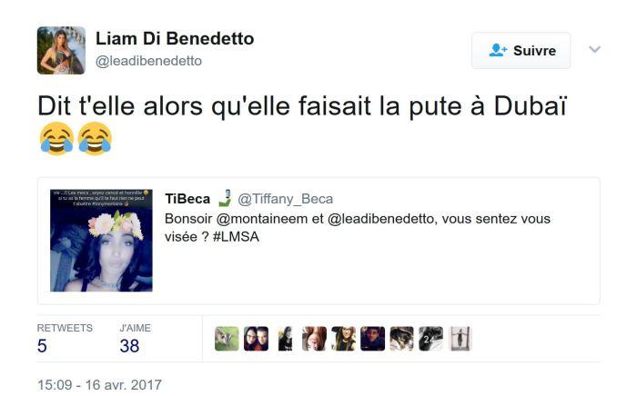 #LMSA : Liam Di Benedetto repart au clash avec Manon Marsault !
