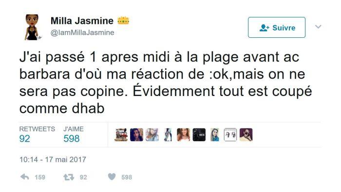#LesAnges9 : Amélie Neten défend Barbara Lune, Milla intervient !