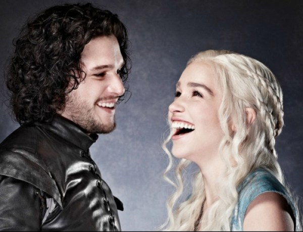 Game of Thrones : Emilia Clarke et Kit Harington, la photo de leur tendre baiser…