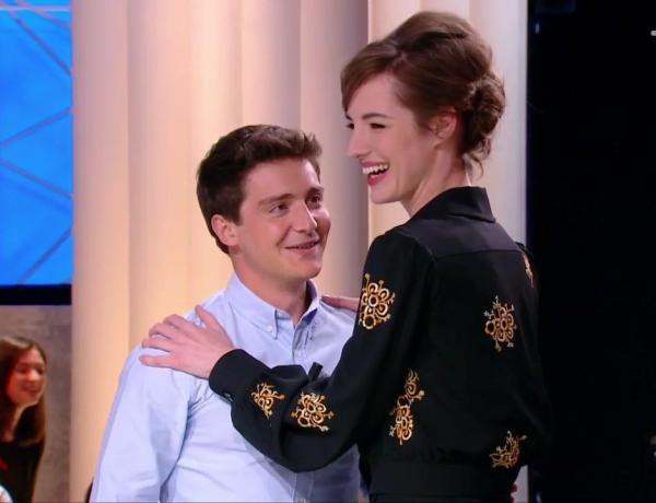Quotidien : Louise Bourgoin drague à nouveau Martin Weill !