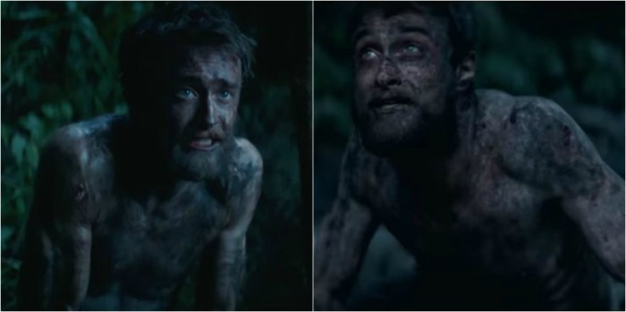 Daniel Radcliffe : Le régime drastique qu'il s'est imposé pour le film « Jungle »