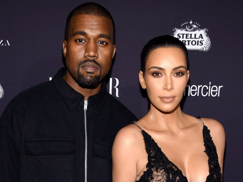 Kim Kardashian et Kanye West au bord du divorce ? La bimbo répond !