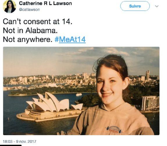 #MeAt14 : Des femmes publient des photos d'elles à 14 ans pour dénoncer le consentement sexuel