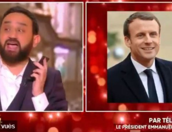 TPMP : Quand Cyril Hanouna appelle Emmanuel Macron en direct !