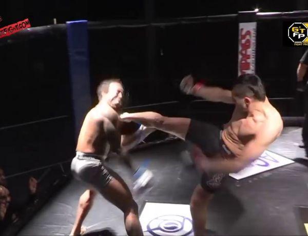 Outch! Ce combattant MMA y laisse une dent