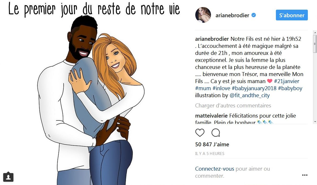 Fulgence Ouedraogo et Ariane Brodier sont parents