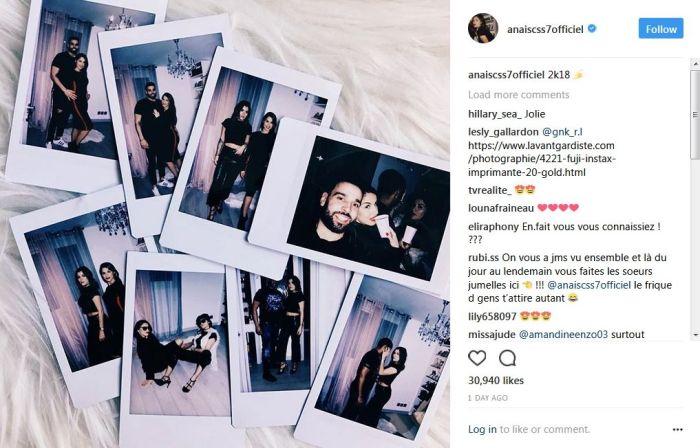 Anaïs Camizuli a passé le nouvel an avec Kamila et Noré de « Secret Story 11 »