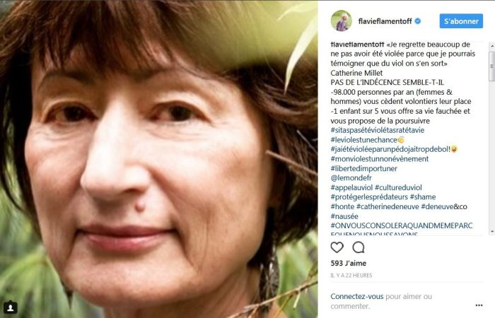 Flavie Flament : Violée à 13 ans, elle donne son avis sur les propos chocs de Brigitte Lahaie