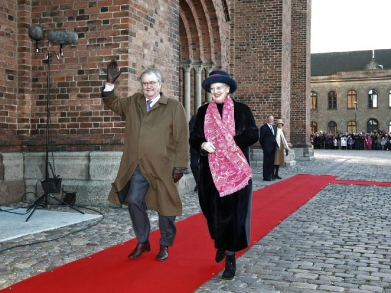 Henrik de Danemark souffre d'une infection pulmonaire