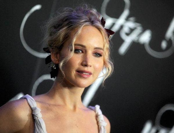 Jennifer Lawrence : Victime d'un grand moment de solitude dans un avion